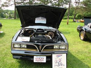 Bandit Rich\'s Car at the Saratoga NY All Firebird Show July 2006