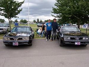 With my Trans Am buddy Chris Jardine and our T/As