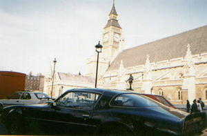 Here is my S/E parked next to Big Ben in 1990 when I was stationed there in the USAF