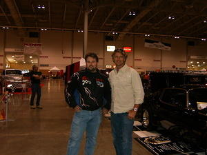 My self and John Schneider from Dukes of Hazard and Smallville. One great guy . Thanks John
