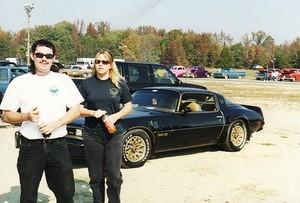 Jeff and Roberta Colonial Beach Dragstrip