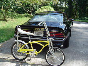 This is how it started for me (a '64 Schwinn Stingray bicycle)