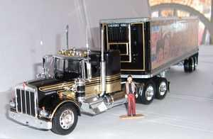 I sent a special truck to Jerry Reed as a retirement present.